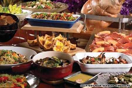 4 món ăn trưa cực hút khách ở đảo quốc Sư tử