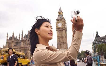 Khách du lịch Trung Quốc đông nhất thế giới.