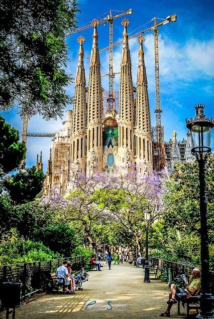 Sagrada Familia, Barcelona, Tây Ban Nha