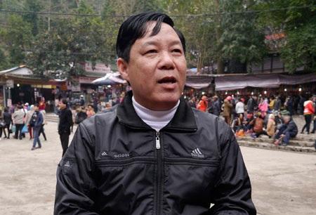 Ông Nguyễn Văn Hậu - Trưởng BTC lễ hội chùa Hương.