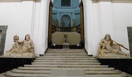 Cổng vào của bảo tàng