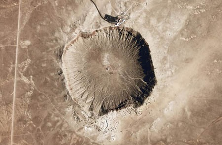 Khu Meteor Crater thuộc Arizona Mỹ