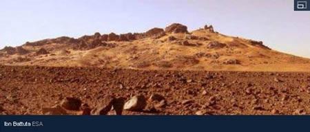 Khu vực cằn cỗi Ibn Battuta ở Marruecos