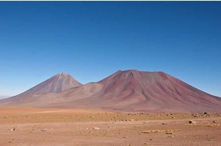 Sa mạc El desierto de Atacama ở Chile