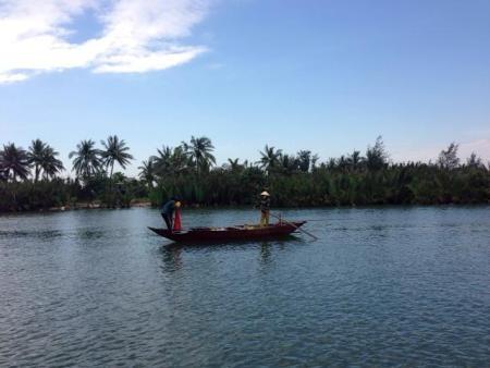 Giải nhiệt giữa lòng sông nước Hội An