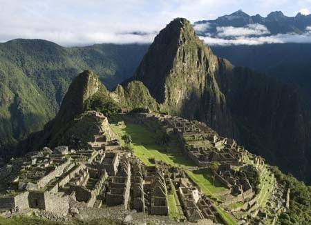Tàn tích Machu Pichu là một trong những kiến trúc tuyệt vời của nền văn minh Inca. Thành phố