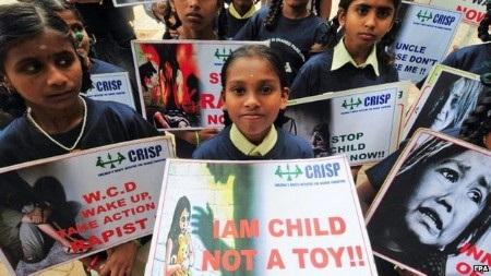 Nạn hiếp dâm trẻ em vẫn là vấn đề nhức nhối tại Ấn Độ