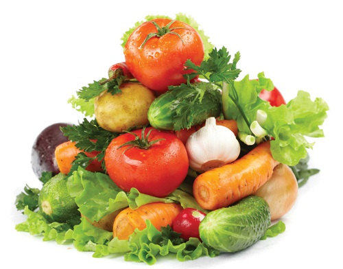 Tăng cường ăn trái cây, rau, củ, quả