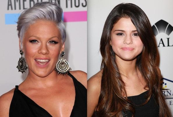 """Pink chỉ trích """"đàn em"""" Selena Gomez  - 1"""