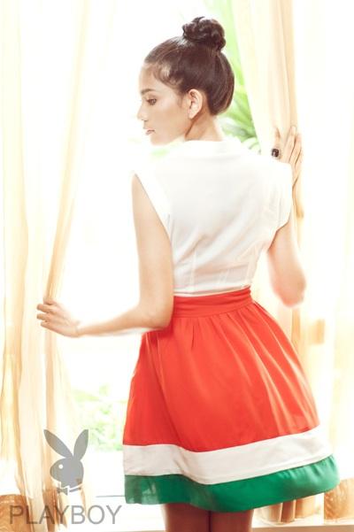 Trương Thị May long lanh sắc vóc cùng thời trang Playboy - 5