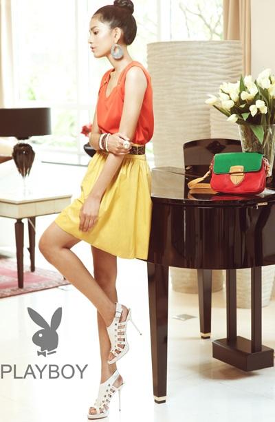 Trương Thị May long lanh sắc vóc cùng thời trang Playboy - 8