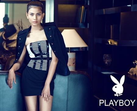 Trương Thị May long lanh sắc vóc cùng thời trang Playboy - 10