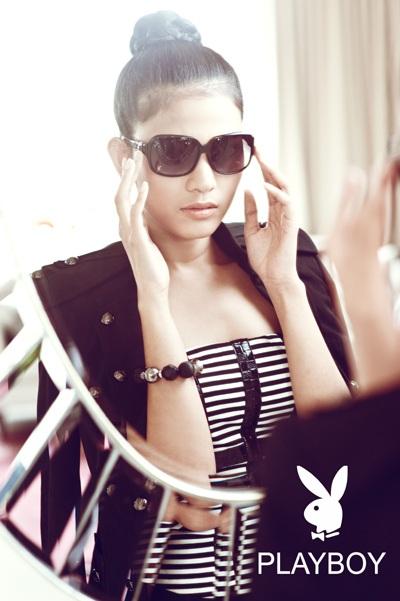 Trương Thị May long lanh sắc vóc cùng thời trang Playboy - 11