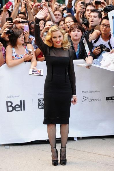Madonna không quan tâm tới những lời phê bình phim mới - 1