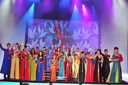 Toàn cảnh đêm chung kết Siêu mẫu Việt Nam 2011 - 2