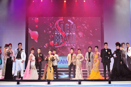 Toàn cảnh đêm chung kết Siêu mẫu Việt Nam 2011 - 26