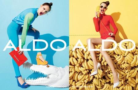 Anais Pouliot xinh tươi trong quảng cáo giày