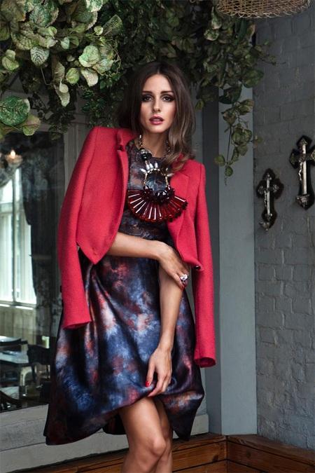 Olivia Palermo trên tạp chí Velvet tháng 9/2012