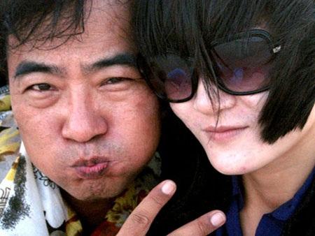 Thùy Trang và Chang Min Jung khi còn mặn nồng.