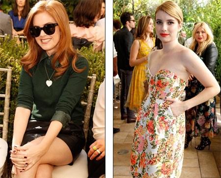 Isla Fisher và Emma Roberts
