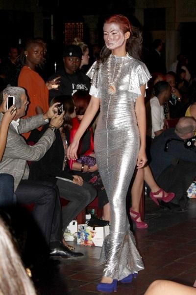 """""""Rò rỉ"""" thêm hình ảnh Mai Giang và Thiên Trang tại New York Fashion Week"""