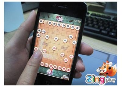 Ứng dụng Cờ Tướng của Zing Play trên iPhone