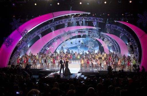 Hình ảnh các thí sinh trong đêm chung kết HHHV