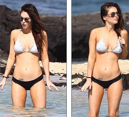 Megan Fox khoe dáng và... hình xăm tại Hawaii  - 2