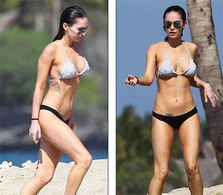 Megan Fox khoe dáng và... hình xăm tại Hawaii  - 6