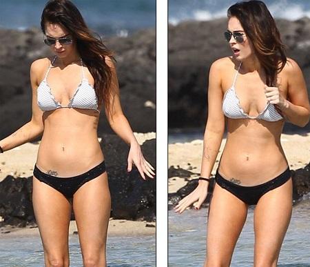 Megan Fox khoe dáng và... hình xăm tại Hawaii  - 13
