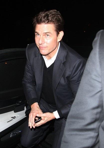 Tom Cruise tại Anh ngày 10/2
