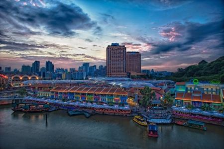 Singapore rực rỡ ánh đèn mùa Giáng Sinh