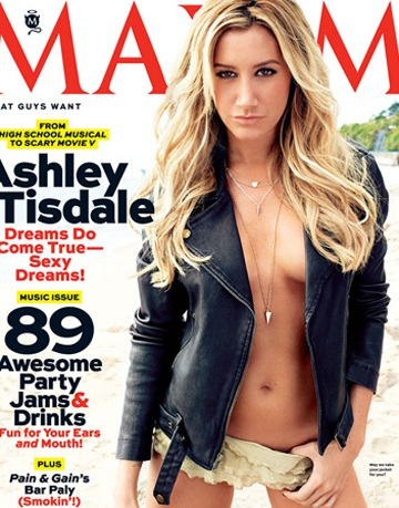 Hình ảnh gợi cảm củaAshley Tisdale