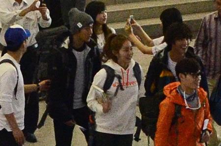 Ngôi sao của Vườn sao băng Kim Huyn Joong (đội mũ)