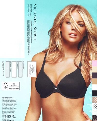 Kate Upton trong ảnh quảng cáo mới của Victoria's Secret