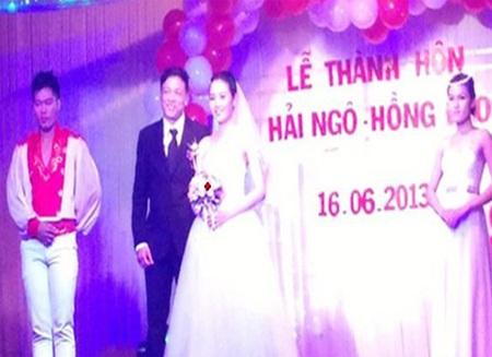 Hé lộ hình ảnh trong lễ cưới đạo diễn Quang Hải và cô dâu kém 25 tuổi
