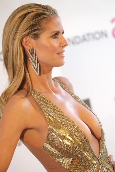 Heidi Klum vẫn gợi cảm ở tuổi 40