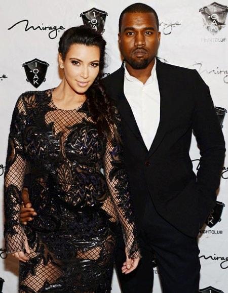 """Vợ chồng Kim - Kanye kỳ vọng vào cái tên """"độc lạ"""" của con gái"""