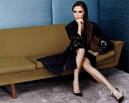 Vic trên tạp chí Vogue
