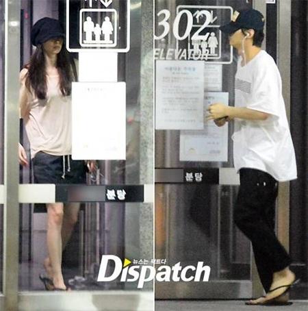 Won Bin bị bắt gặp lén lút hò hẹn với nữ đồng nghiệp xinh đẹp Lee Na Young nhiều lần trong tháng