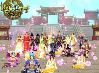 Thiên Long Bát Bộ - game ăn theo phim thành công rực rỡ
