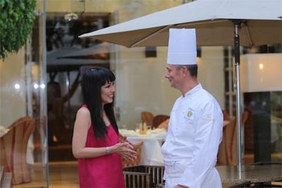 Theo chị, ẩm thực không chỉ là món ăn mà nó còn thể hiện văn hóa, truyền thống của địa phương.