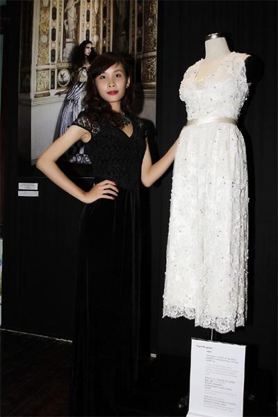 Người mẫu trong trang phục của NTK Đỗ Trịnh Hoài Nam