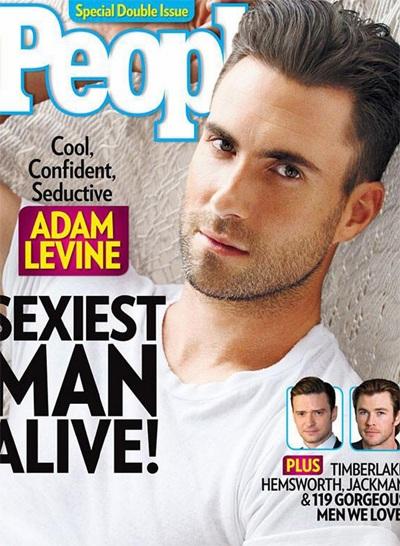 Adam Levine hài hước khi nhận giải người đàn ông gợi tình nhất