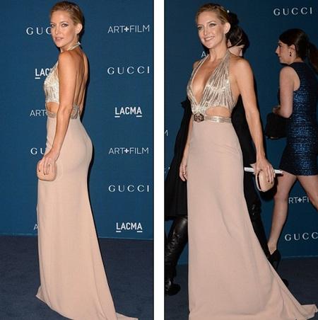 Kate Hudson gợi cảm trong chiếc váy xẻ cao