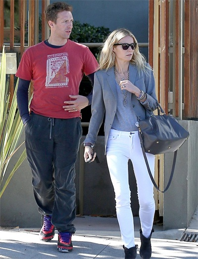 Dù chia tay nhưng Gwyneth Paltrow và Chris Martin vẫn cùng nhau nuôi dạy hai con