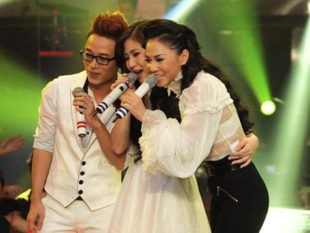 Thu Minh từng làHLV của Trúc Nhân và Hương Tràm trong Giọng hát Việt mùa đầu tiên