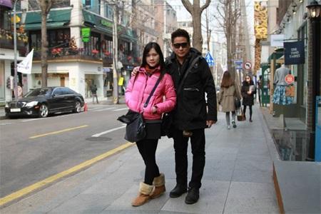Đôi vợ chồng trẻ đã dành nhiều thời gian khám phá Seoul xinh đẹp