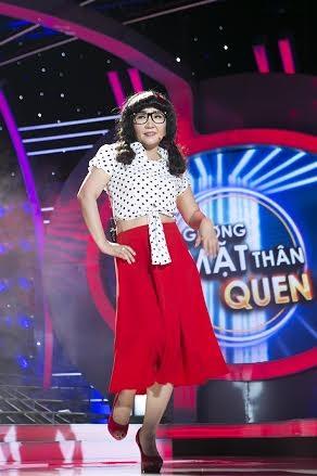 """Ngân Quỳnh bứt phá giành giải nhất show thứ 2 của """"Gương mặt thân quen"""""""