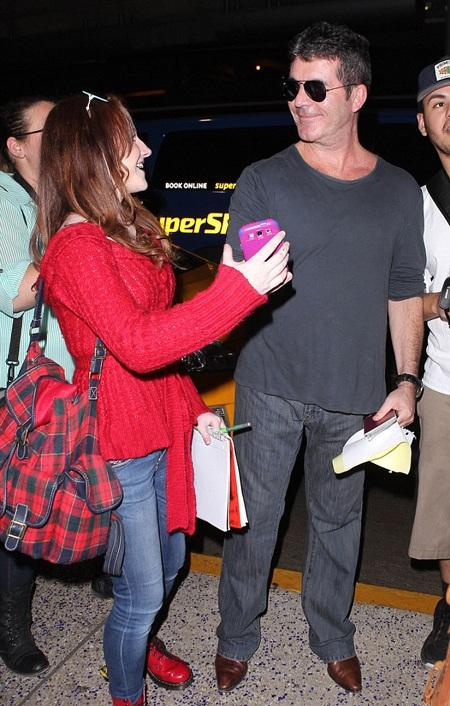 Simon Cowell chia sẻ, bạn gái luôn ủng hộ ông trong mọi công việc